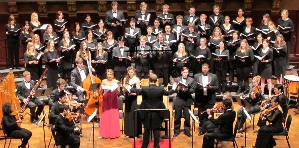 Arts Chorale's Annual Hill Concert, Fall 2013